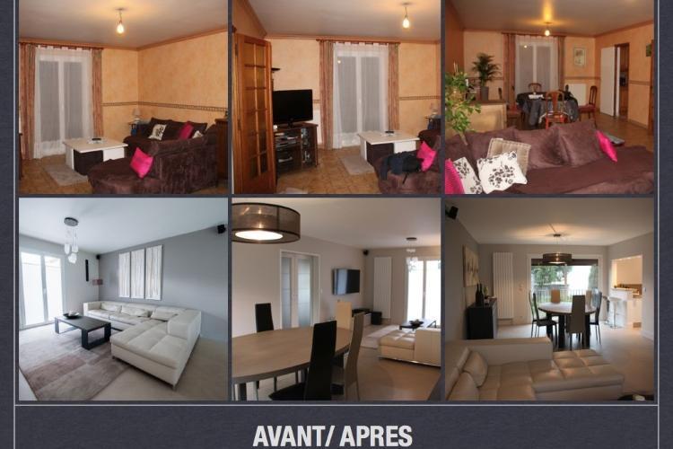 Impressionnant Renovation Appartement Avant Apres #12: Rénovation Appartement à La Roche Sur Yon. Rénovation Avant Après