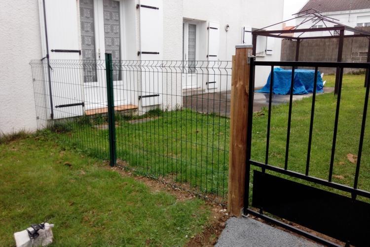 Nouvelle clôture