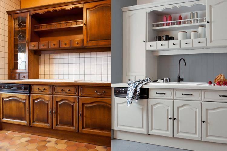Peinture cuisine ancienne | Home Rénove | Vendée
